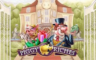 Piggy Riches Slot Logo
