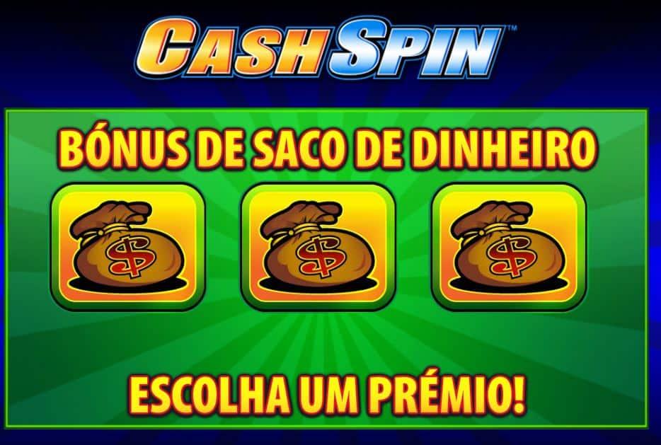 rodadas bónus e giros grátis en Cash Spin