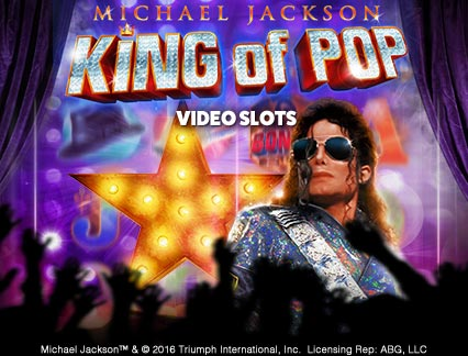 Michael Jackson King of Pop logo