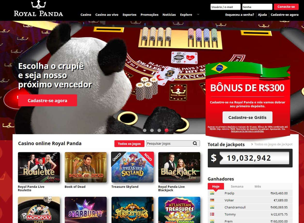 Melhores Jogos de Slot Machines Online em RoyalPanda