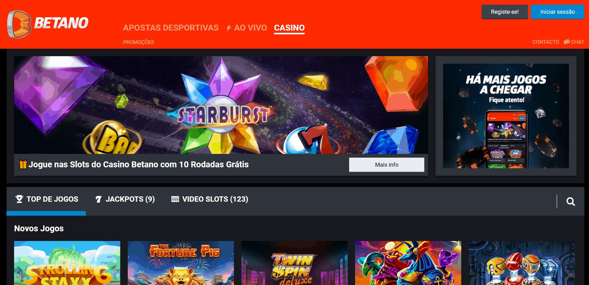Betano desktop