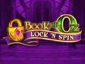 Book of Oz Lock 'N Spins logo