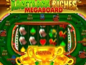 Racetrack Riches Megaboard logo