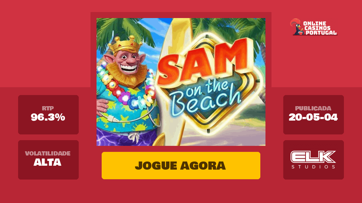 Sam On The Beach Slot Machine