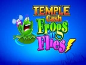 Temple Cash Frogs 'n Flies logo