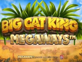 Big Cat King Megaways logo