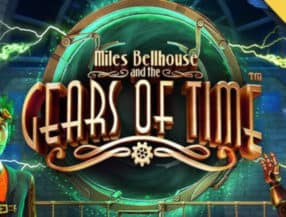 Miles Bellhouse and the Gears of Time logo